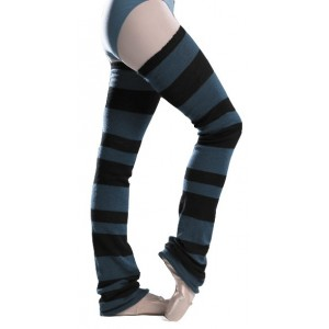 Intermezzo 2013 block striped Legwarmers without stirrup
