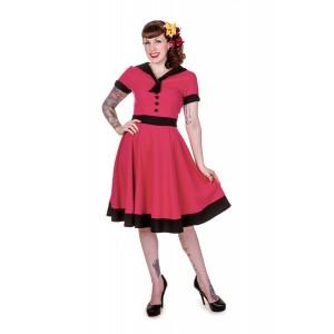 Banned Rockabilly Vintage Sailor Kleid 575