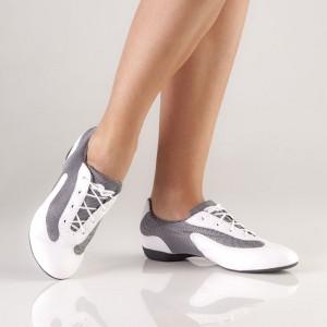 So Danca DK30 Dance Sneaker weiß-silber
