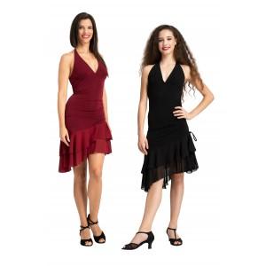 Rumpf Ballroom Neckholder Kleid Alanya