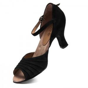 Premium Line Damenschuhe 9178 schwarz