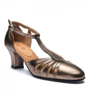 Premium Line Ladies dance shoes 9210 bronce