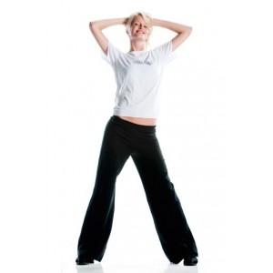 lange Jazzpant / Jazzhose aus Baumwolle