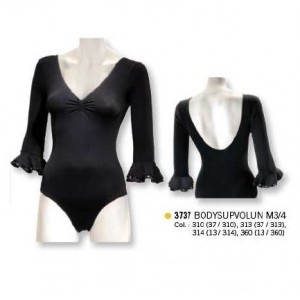 Flamenco Trikot / Body 3737 Bodysupvolun 3/4 Arm