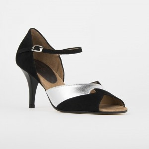 Lateinschuh 2412, Satin bronze