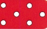 300 rot - weiss gepunktet